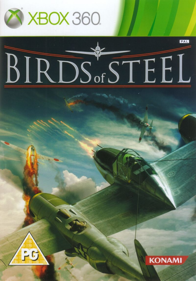 Birds of Steel Xbox 360 Front Cover