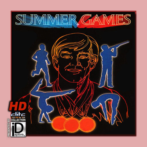 Summer Games iPad Front Cover