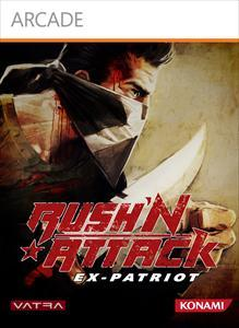 Rush'N Attack: Ex-Patriot Xbox 360 Front Cover