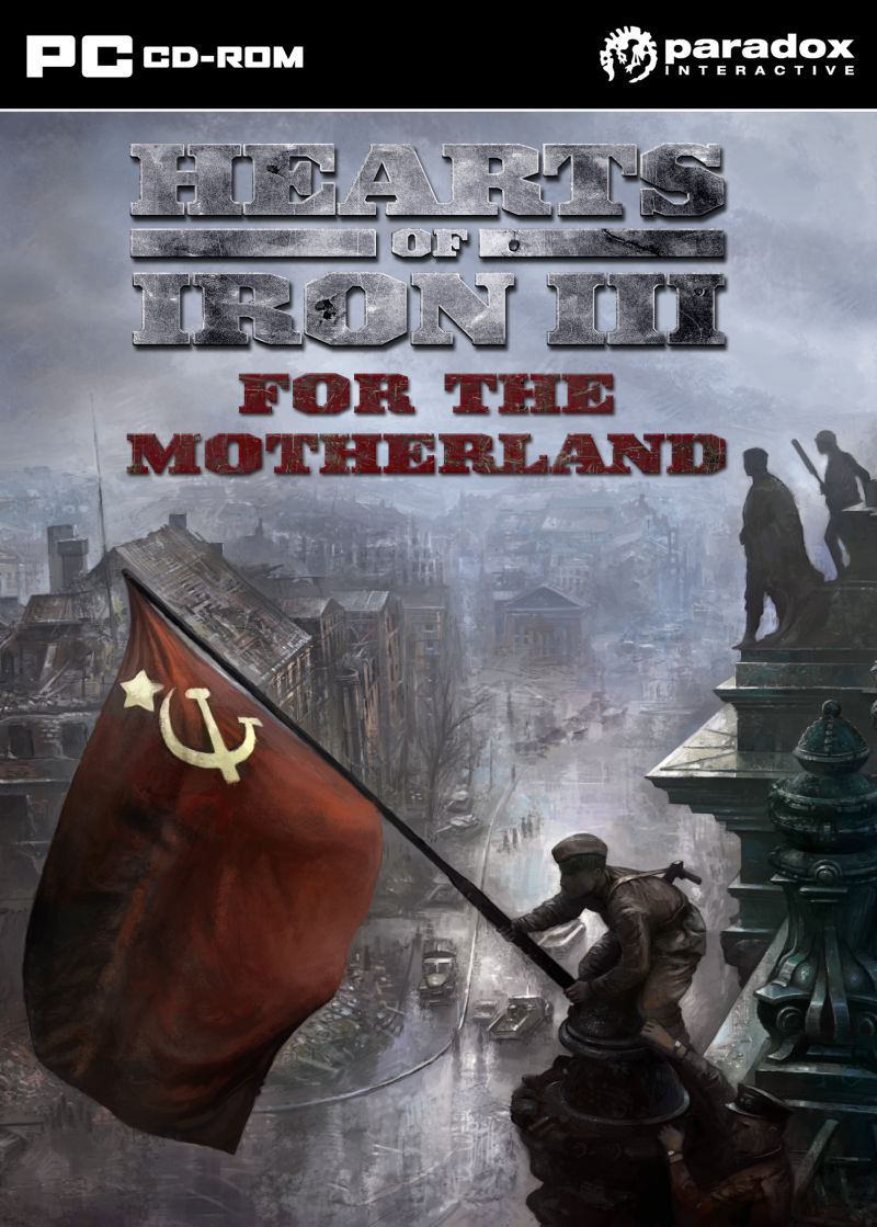 Hearts of Iron III: For the Motherland Windows Front Cover