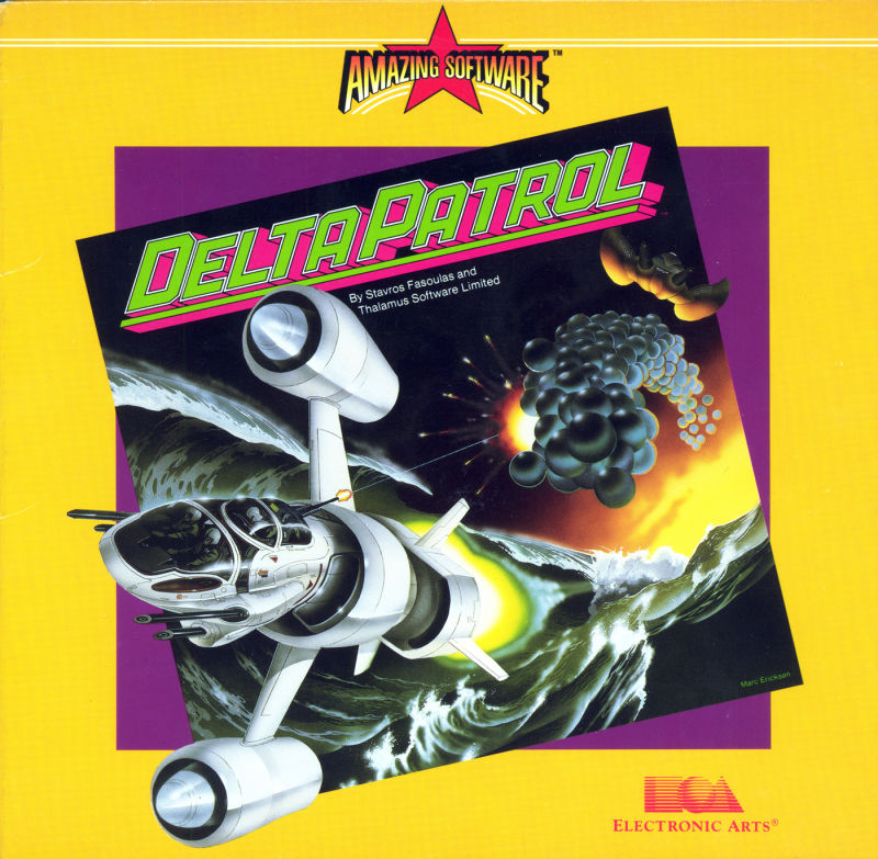 Delta Patrol Commodore 64 Front Cover