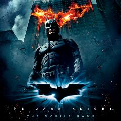 The Dark Knight: The Mobile Game BlackBerry Front Cover