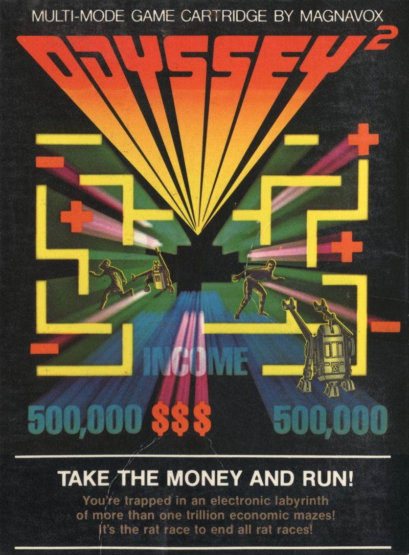 Take the Money and Run! Odyssey 2 Front Cover