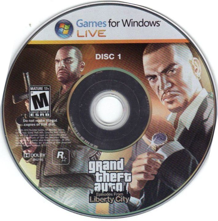 Grand Theft Auto: Episodes from Liberty City Windows Media