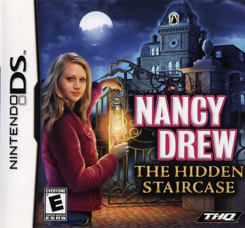 Nancy Drew: The Hidden Staircase Nintendo DS Front Cover