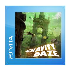 Gravity Rush PS Vita Front Cover