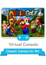 Mario Golf Wii Front Cover