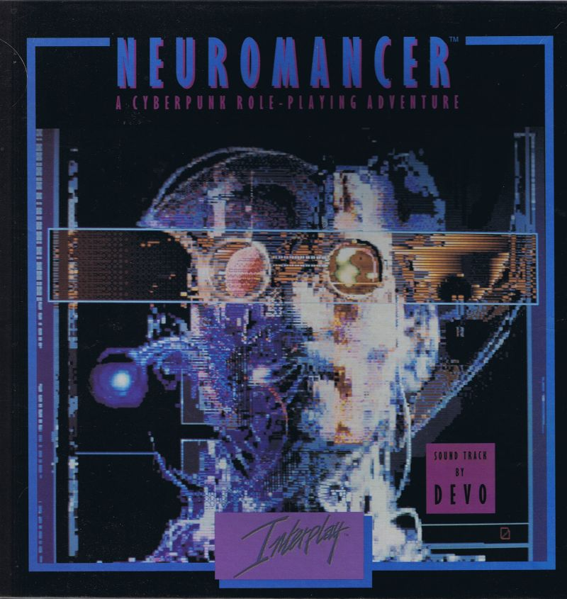 Neuromancer Commodore 64 Front Cover