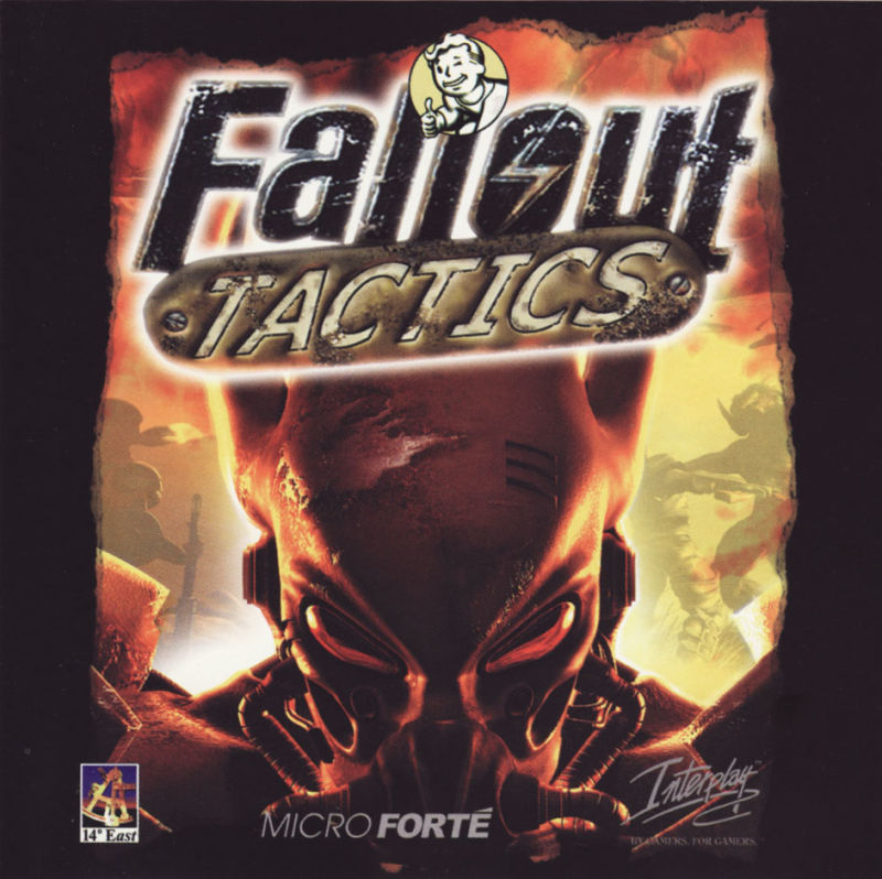 Fallout Tactics: Brotherhood of Steel  Windows Other Jewel Case - Front