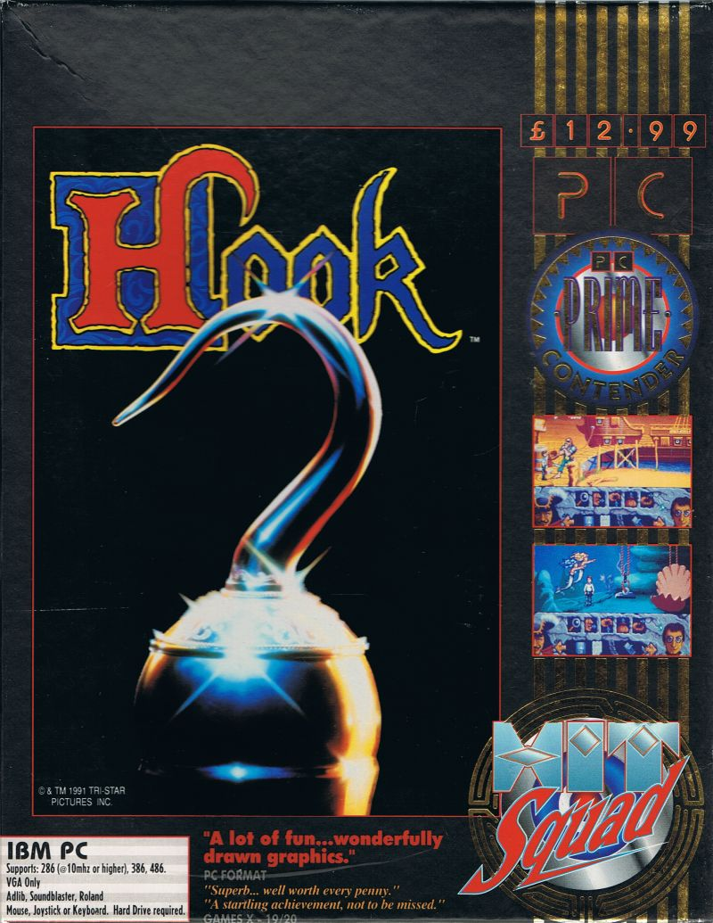 Hook DOS Front Cover