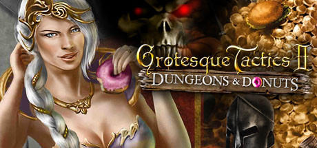 Grotesque Tactics II: Dungeons & Donuts Windows Front Cover
