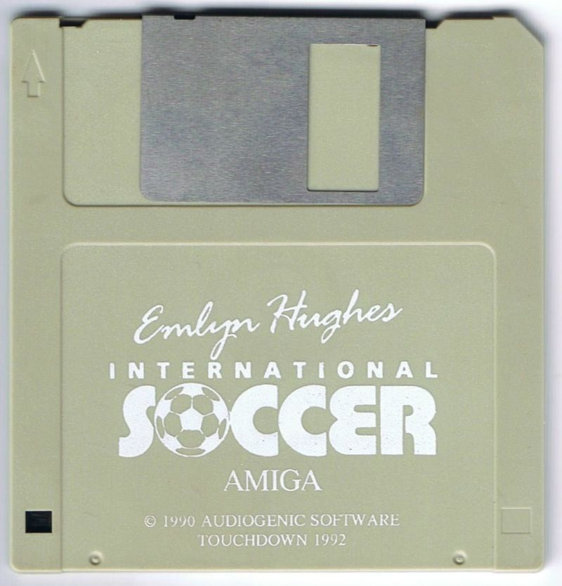 Emlyn Hughes International Soccer Amiga Media