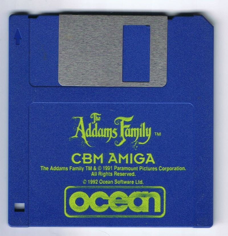 The Addams Family Amiga Media