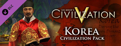 Sid Meier's Civilization V: Civilization and Scenario Pack - Korea Linux Front Cover
