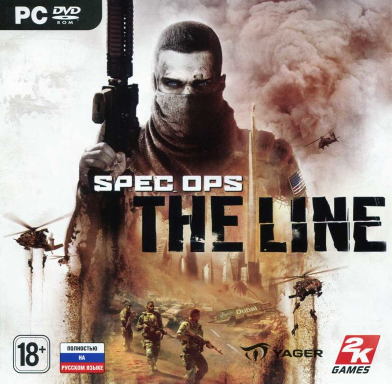 Spec Ops: The Line Windows Front Cover