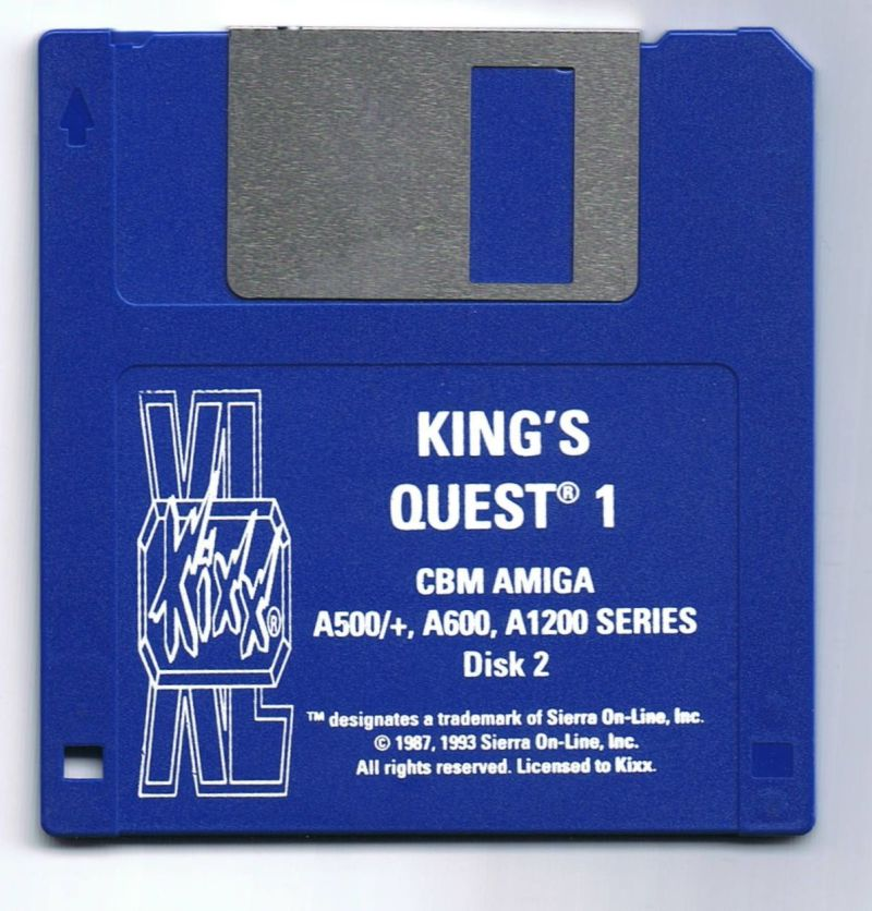 Roberta Williams' King's Quest I: Quest for the Crown Amiga Media Disc 2/2