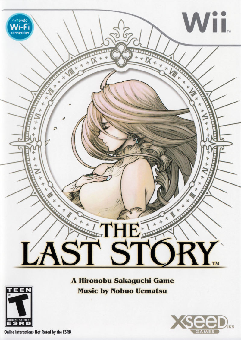 The Last Story Wii Front Cover