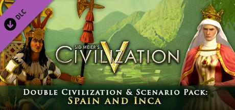 Sid Meier's Civilization V: Double Civilization and Scenario Pack: Spain and Inca Linux Front Cover
