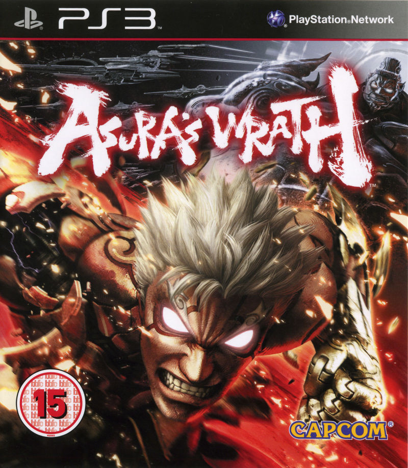Asura's Wrath PlayStation 3 Front Cover