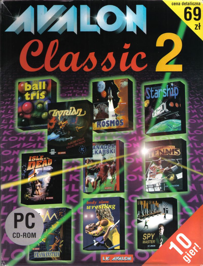 Avalon Classic 2 DOS Front Cover