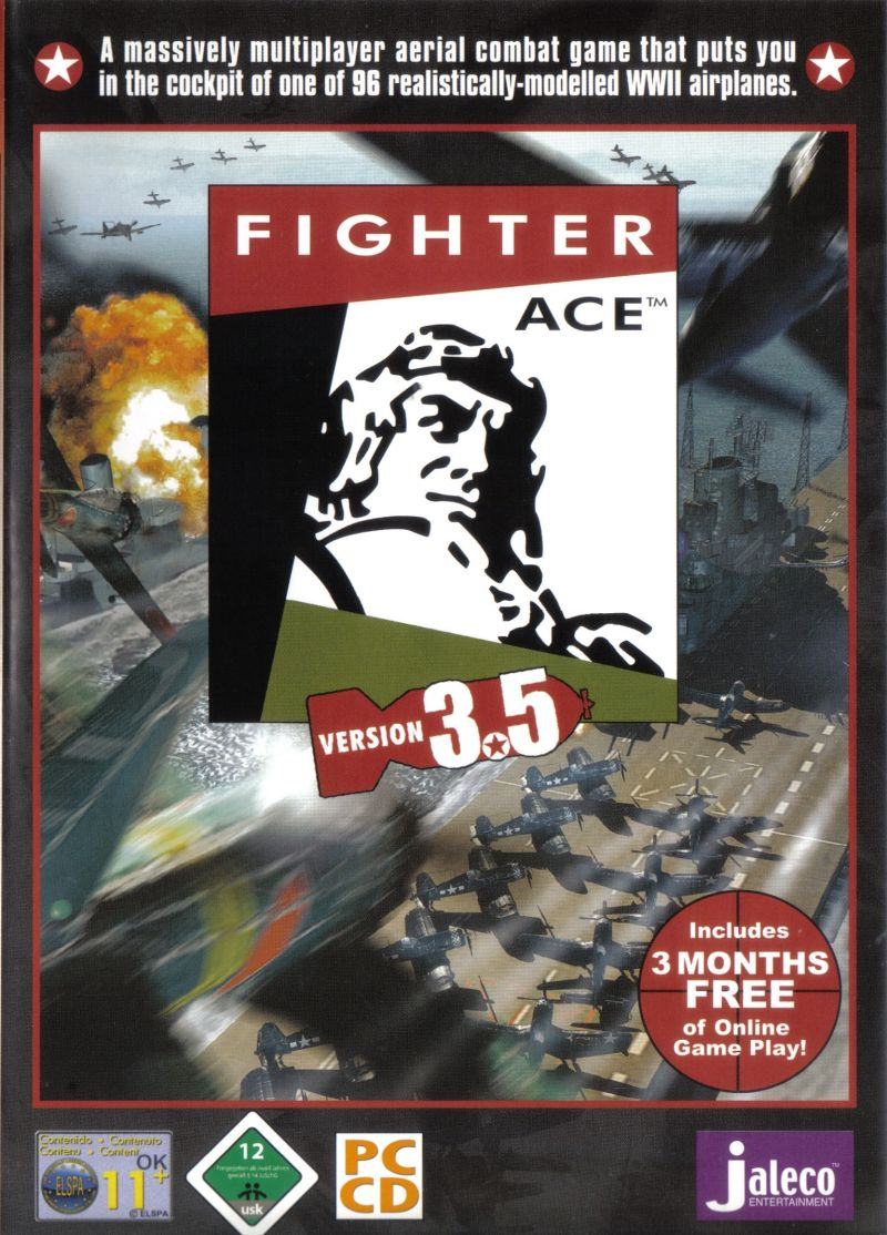 Fighter Ace 3.5 Windows Front Cover