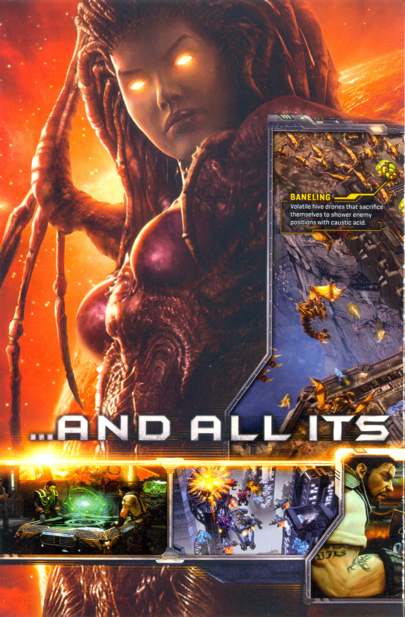 StarCraft II: Wings of Liberty Macintosh Inside Cover Inner - Far Left