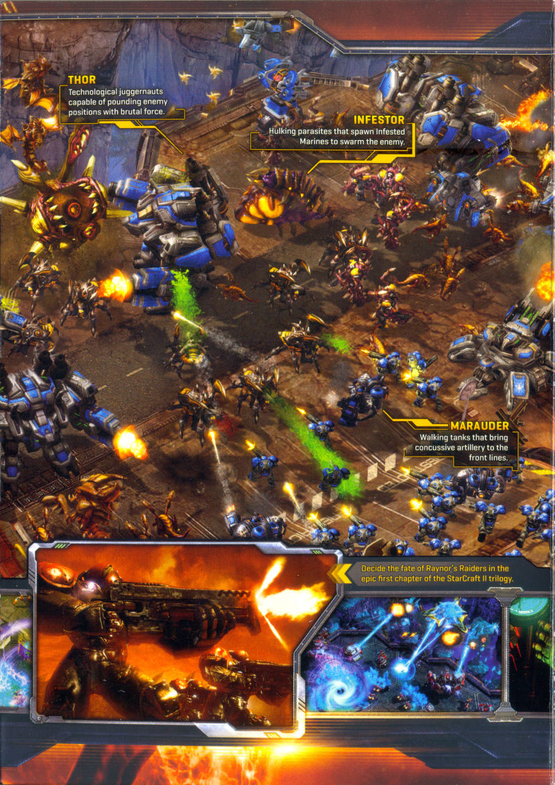 StarCraft II: Wings of Liberty Macintosh Inside Cover Inner - Right