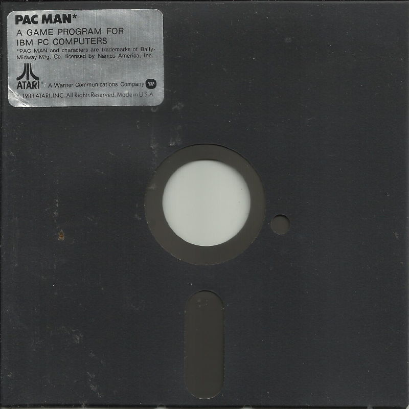 Pac-Man PC Booter Media Disk (1/1)
