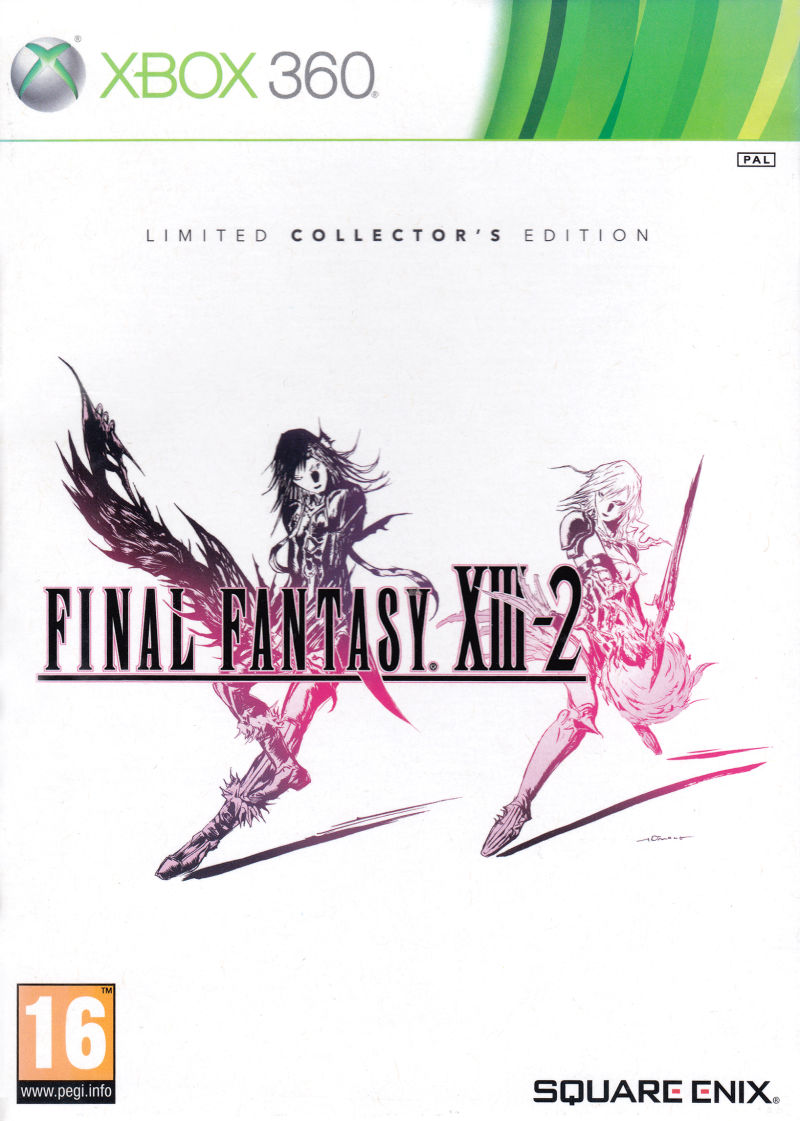 Final Fantasy XIII-2 (Limited Collector's Edition) Xbox 360 Front Cover
