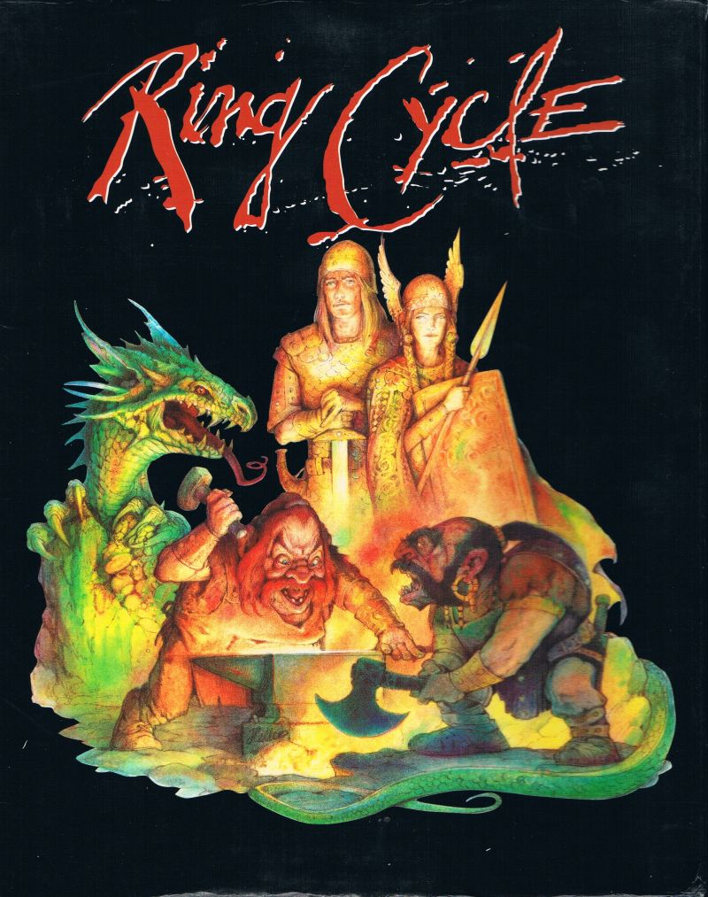 Ring Cycle DOS Front Cover