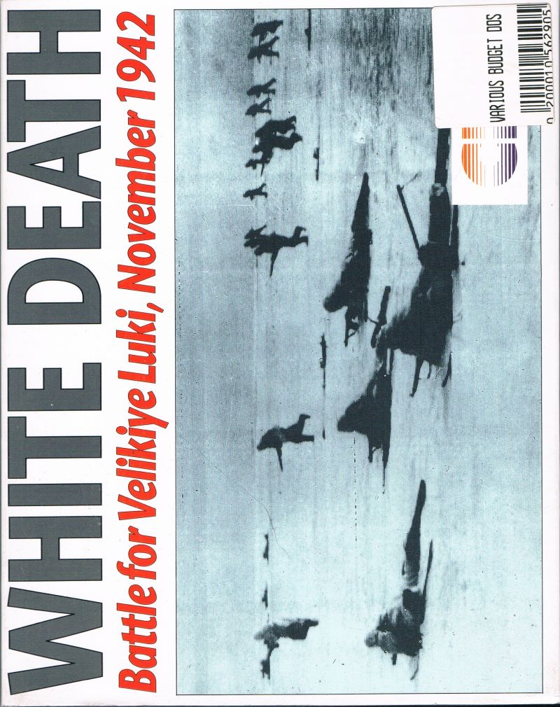 White Death DOS Front Cover