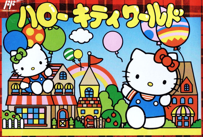 Hello Kitty World NES Front Cover