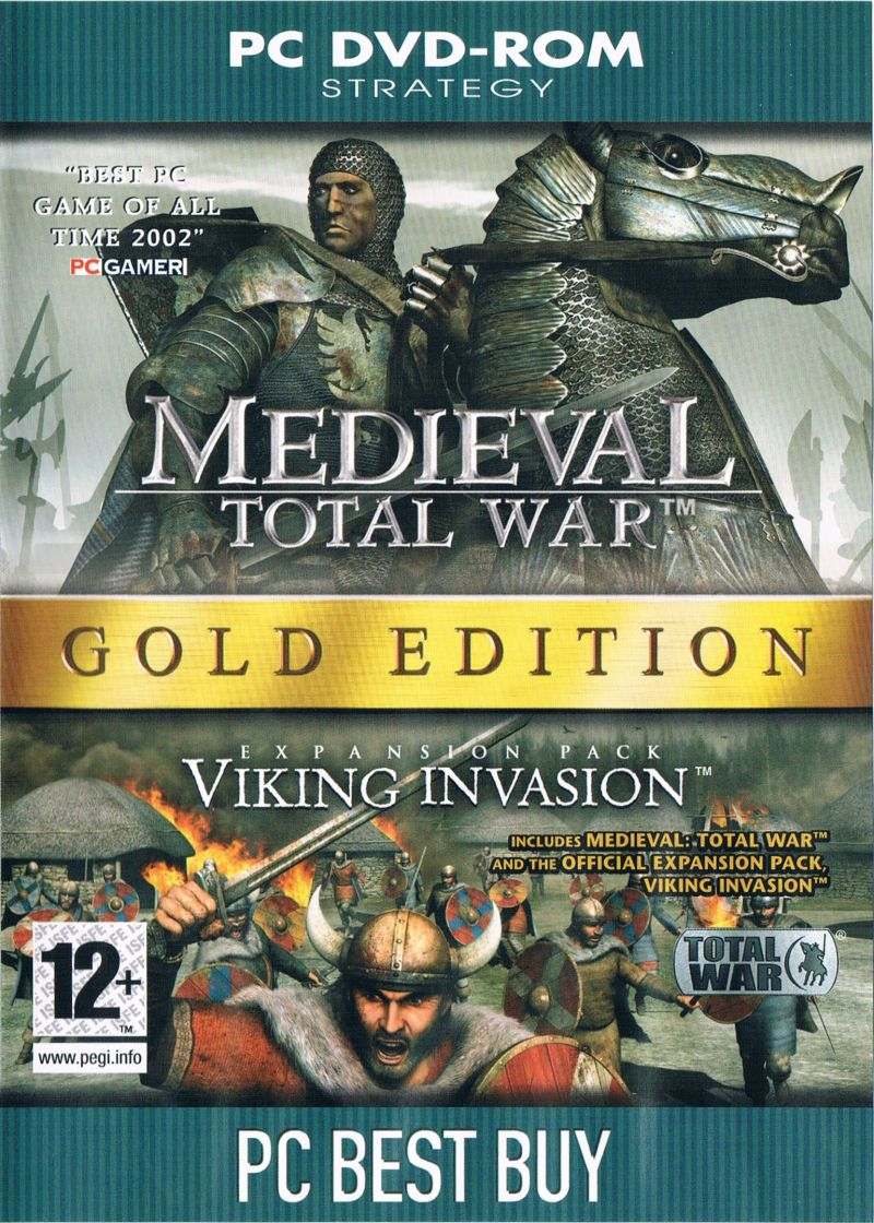 Medieval: Total War - Battle Collection Windows Front Cover
