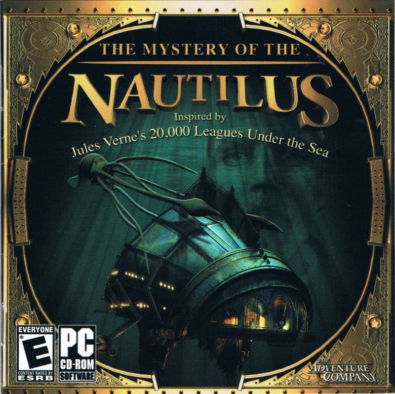 2 for 1: The Mystery of the Nautilus / The New Adventures of the Time Machine Windows Other The Mystery of the Nautilus - Jewel Case - Front