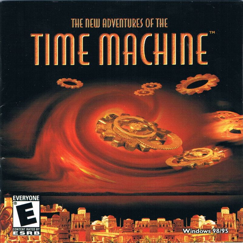 2 for 1: The Mystery of the Nautilus / The New Adventures of the Time Machine Windows Other The New Adventures of the Time Machine - Jewel Case - Front