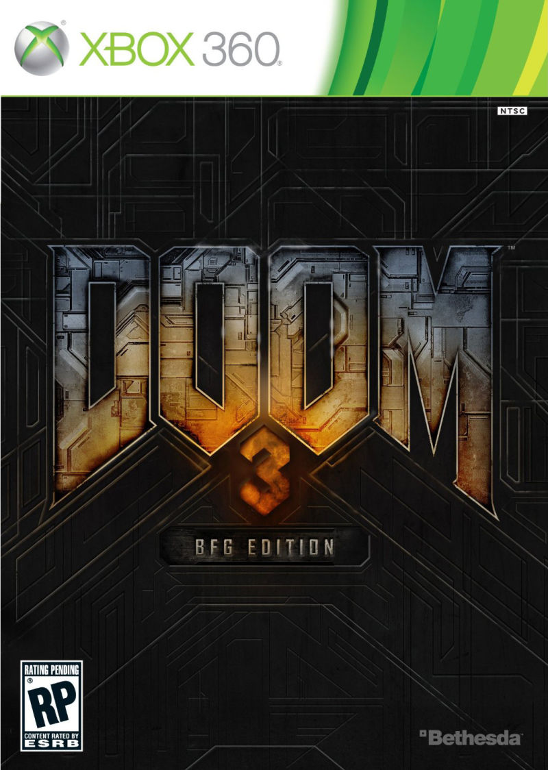 DOOM³: BFG Edition Xbox 360 Front Cover