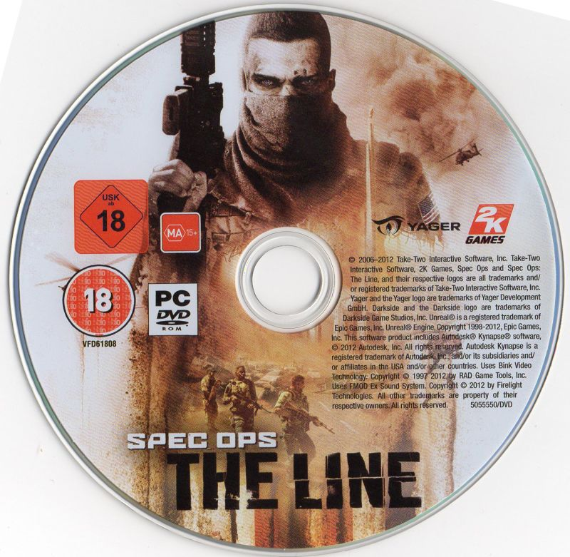 Spec Ops: The Line Windows Media
