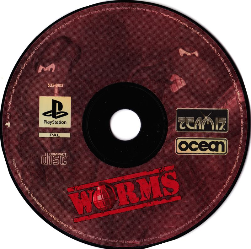 Worms PlayStation Media