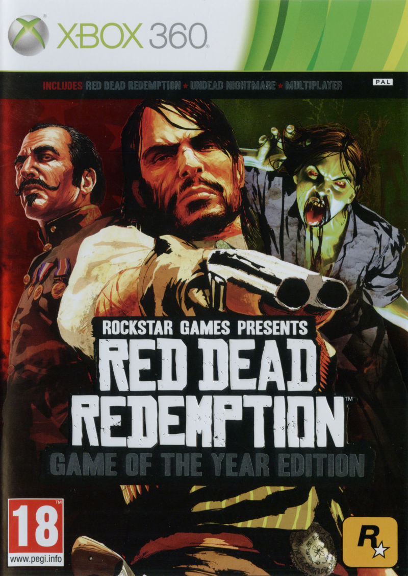 Red Dead Redemption: Game of the Year Edition Xbox 360 Front Cover