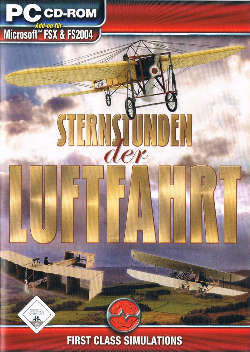 The Early Years of Flight Windows Front Cover German
