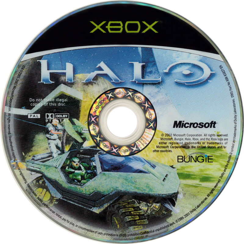 Halo: Combat Evolved Xbox Media