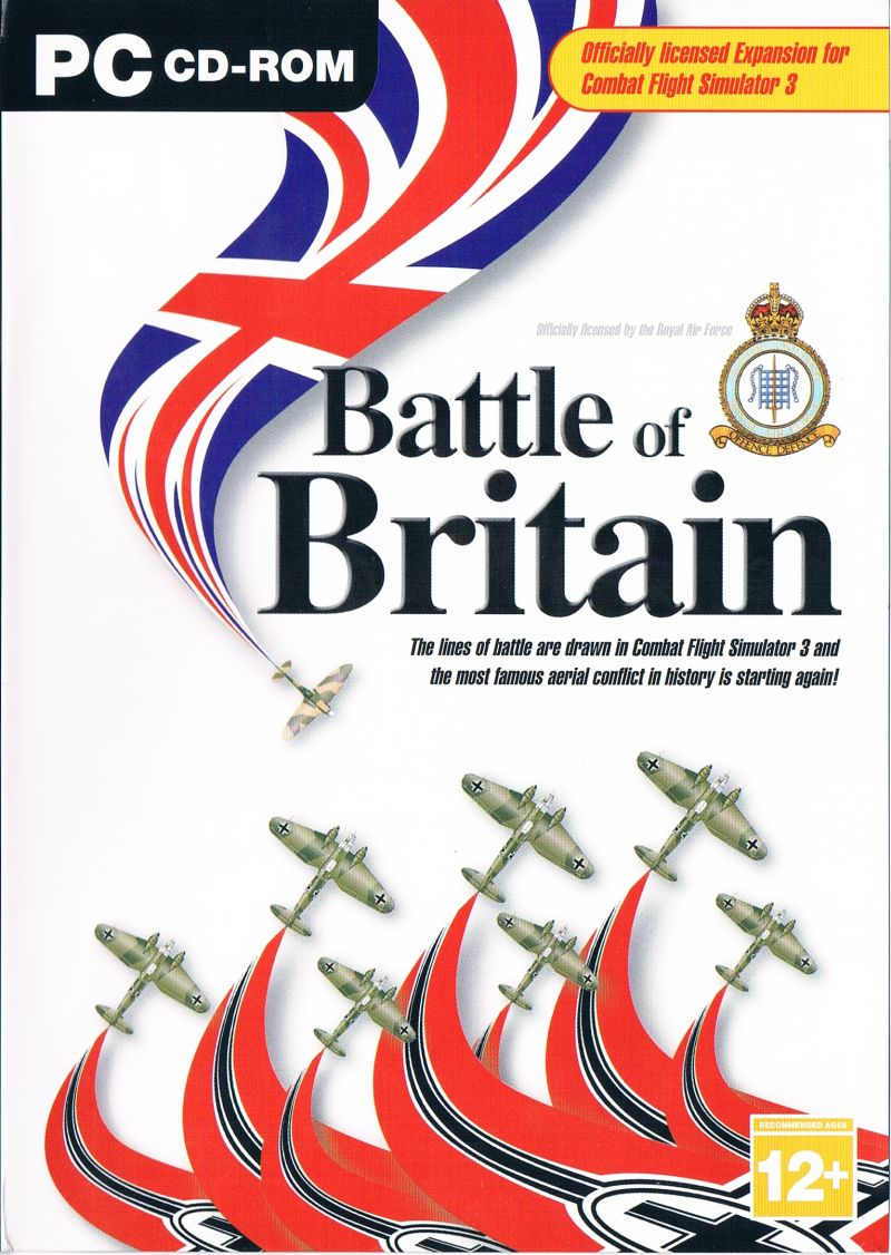 Battle of Britain Windows Front Cover