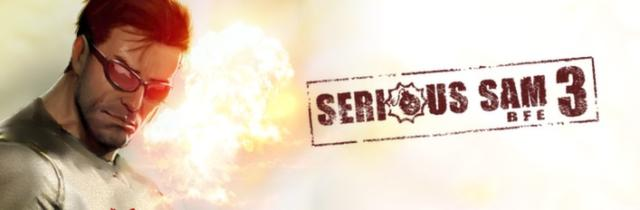 Serious Sam 3: BFE (Deluxe Edition) Windows Front Cover Steam release