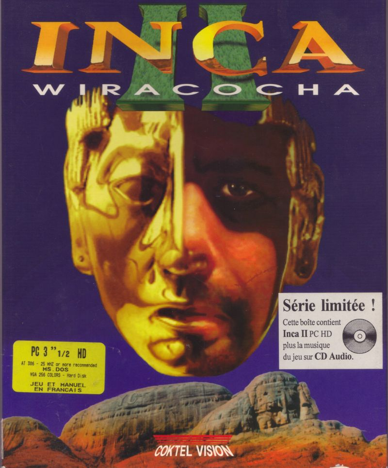 Inca II: Wiracocha (Série limitée) DOS Front Cover