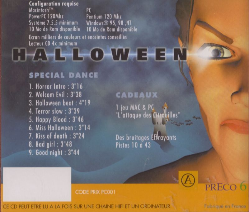 Halloween Macintosh Back Cover