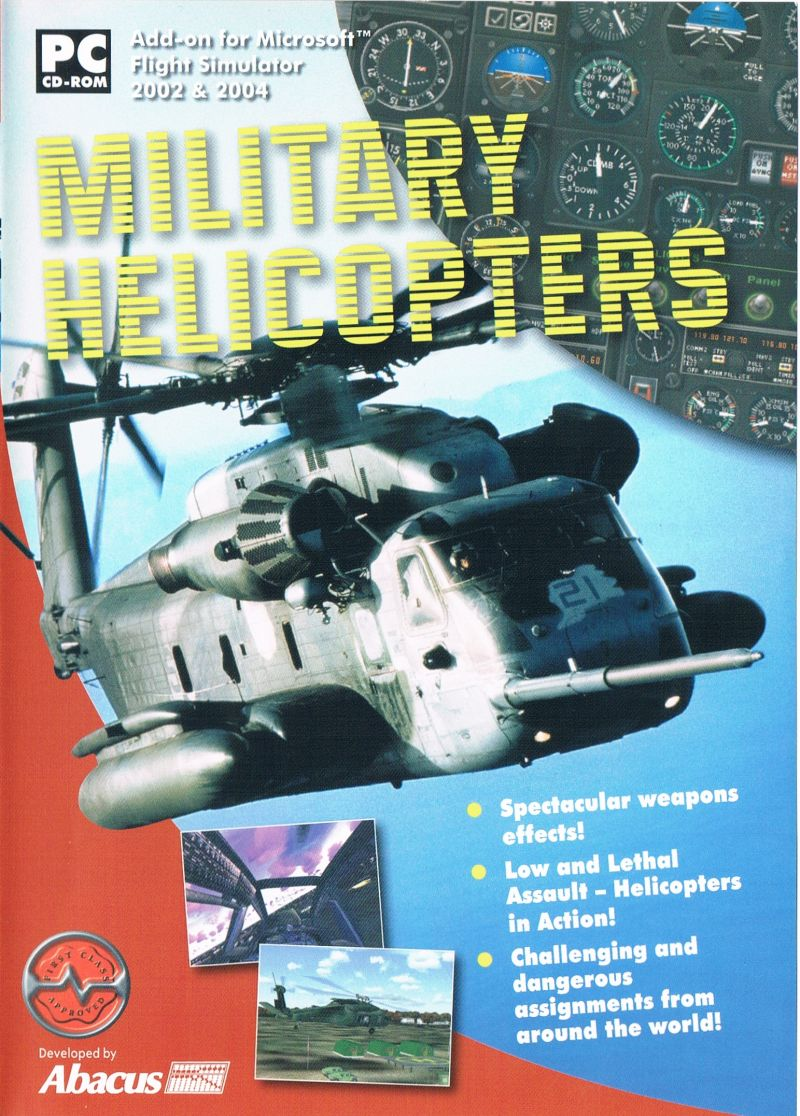 Military Helicopters Windows Front Cover UK