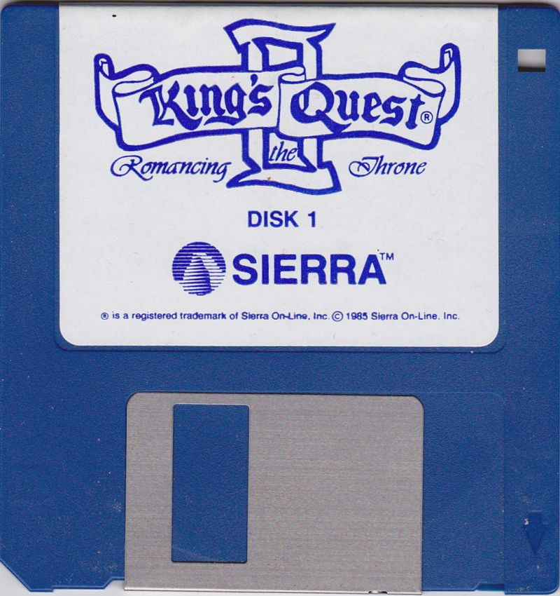 King's Quest II: Romancing the Throne Apple IIgs Media