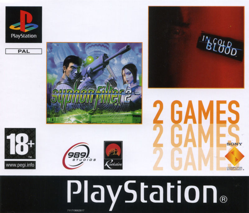 Syphon Filter 2 / In Cold Blood PlayStation Front Cover