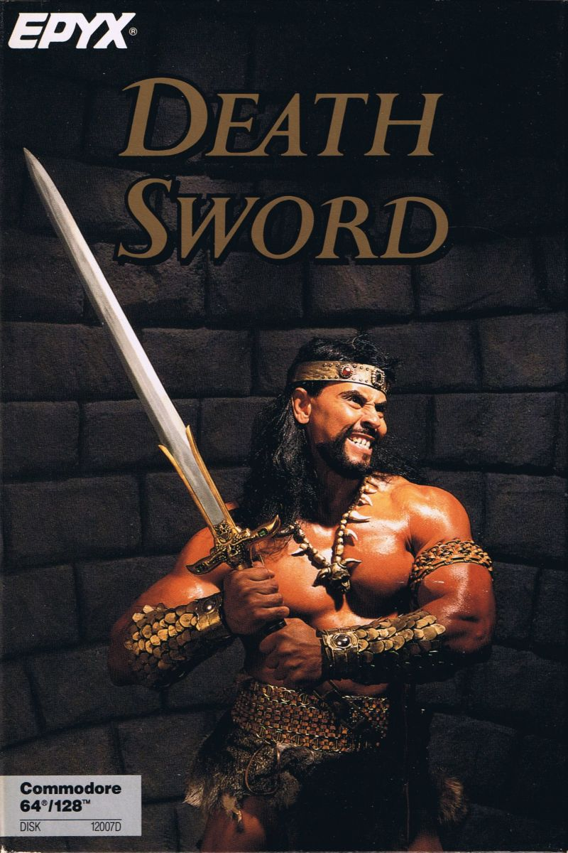 Death Sword Commodore 64 Front Cover