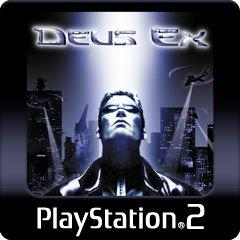 Deus Ex PlayStation 3 Front Cover